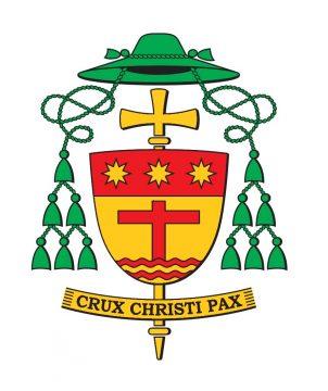 stemma araldico vescovo Crociata